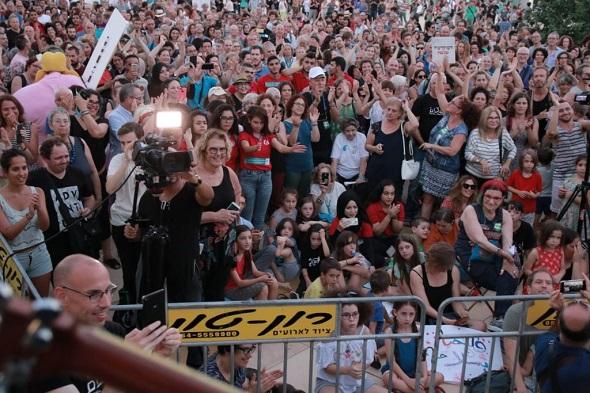 Foto van demonstratie