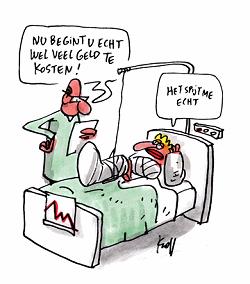 Patient zegt sorry voor kosten