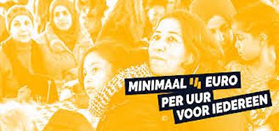 Affiche minimaal 14 euro per uur voor iedereen